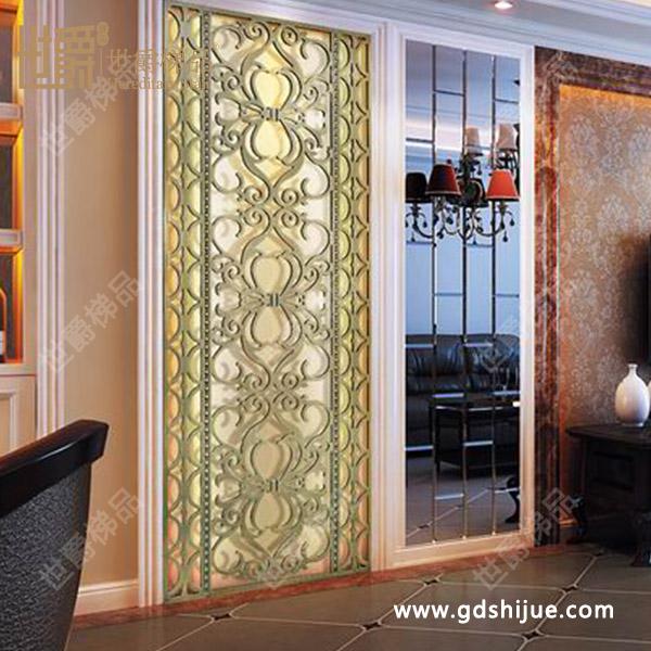 客厅中式古典屏风